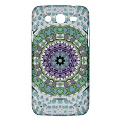 Hearts In A Decorative Star Flower Mandala Samsung Galaxy Mega 5 8 I9152 Hardshell Case  by pepitasart