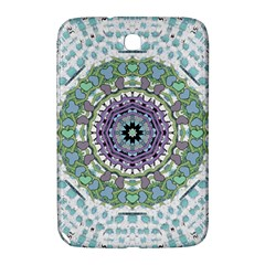 Hearts In A Decorative Star Flower Mandala Samsung Galaxy Note 8 0 N5100 Hardshell Case  by pepitasart