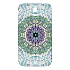 Hearts In A Decorative Star Flower Mandala Samsung Galaxy Mega I9200 Hardshell Back Case by pepitasart