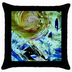 June Gloom 6 Throw Pillow Case (black) by bestdesignintheworld