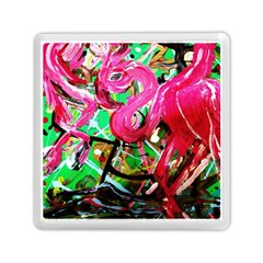 Flamingo   Child Of Dawn 9 Memory Card Reader (square)  by bestdesignintheworld
