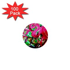 Flamingo   Child Of Dawn 9 1  Mini Buttons (100 Pack)  by bestdesignintheworld