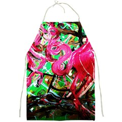 Flamingo   Child Of Dawn 9 Full Print Aprons by bestdesignintheworld