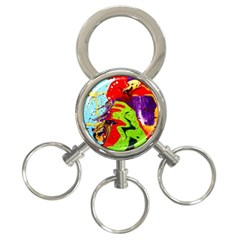 Untitled Island 5 3 Ring Key Chains by bestdesignintheworld