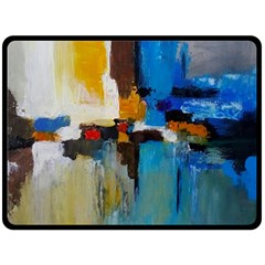 Abstract Fleece Blanket (large)