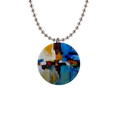 Abstract Button Necklaces