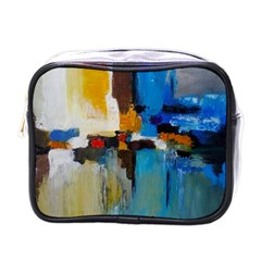Abstract Mini Toiletries Bags by consciouslyliving