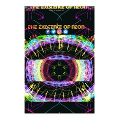 Crowned Existence Of Neon Shower Curtain 48  X 72  (small) by TheExistenceOfNeon2018
