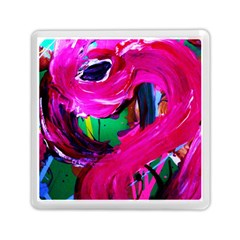 Flamingo   Child Of Dawn 8 Memory Card Reader (square)  by bestdesignintheworld
