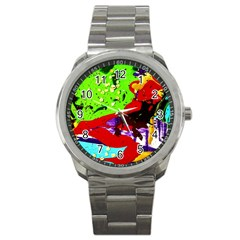 Untitled Island 4 Sport Metal Watch
