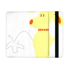 Mutt Dog Animal Domestic Vector Samsung Galaxy Tab Pro 8 4  Flip Case