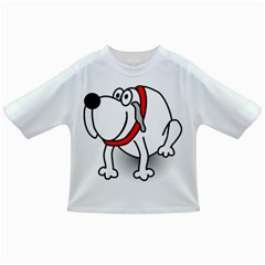 Dog Animal Pet Grin Sit Happy Infant/toddler T Shirts