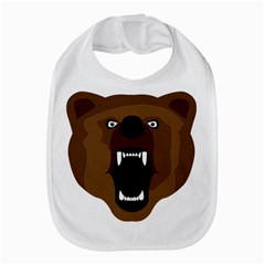 Bear Brown Set Paw Isolated Icon Bib by Nexatart