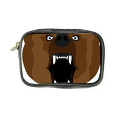 Bear Brown Set Paw Isolated Icon Coin Purse