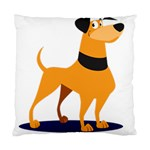 Stub Illustration Cute Animal Dog Standard Cushion Case (Two Sides) Front
