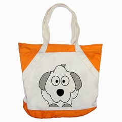 Animal Cartoon Colour Dog Accent Tote Bag