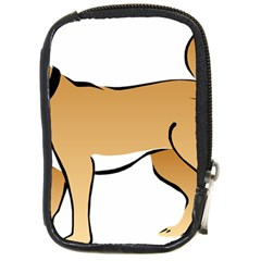 Dog Brown Pet Animal Tail Eskimo Compact Camera Cases