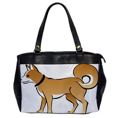 Dog Brown Pet Animal Tail Eskimo Office Handbags
