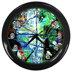 Depression 1 Wall Clocks (black) by bestdesignintheworld