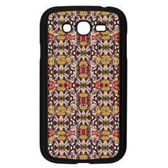 Rose Buds And Floral Decorative Samsung Galaxy Grand Duos I9082 Case (black) by pepitasart