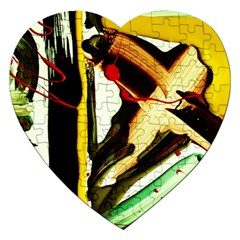 Grave Yard 2 Jigsaw Puzzle (heart) by bestdesignintheworld