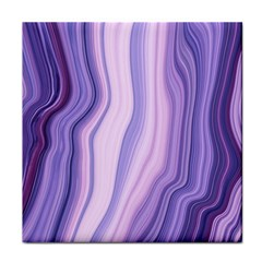 Marbled Ultra Violet Tile Coasters by 8fugoso