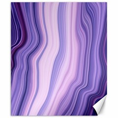 Marbled Ultra Violet Canvas 20  X 24