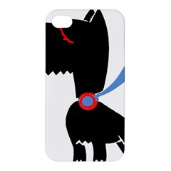 Dog Scottish Terrier Scottie Apple Iphone 4/4s Premium Hardshell Case by Nexatart