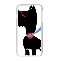 Dog Scottish Terrier Scottie Apple Iphone 7 Plus Seamless Case (white)