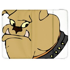 Bulldog Dog Head Canine Pet Samsung Galaxy Tab 7  P1000 Flip Case