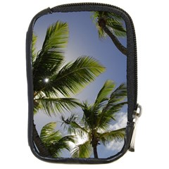 Palm Trees Tropical Beach Scenes Coastal   Compact Camera Cases by CrypticFragmentsColors
