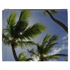 Palm Trees Tropical Beach Scenes Coastal   Cosmetic Bag (xxxl)