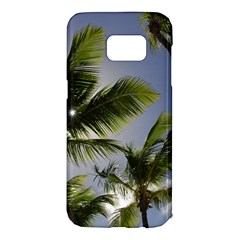 Palm Trees Tropical Beach Scenes Coastal   Samsung Galaxy S7 Edge Hardshell Case by CrypticFragmentsColors