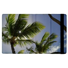 Palm Trees Tropical Beach Scenes Coastal   Apple Ipad Pro 9 7   Flip Case by CrypticFragmentsColors