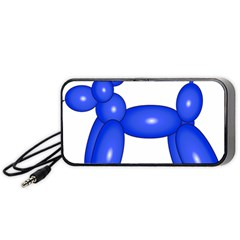 Poodle Dog Balloon Animal Clown Portable Speaker by Nexatart