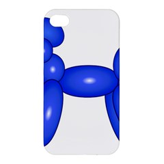 Poodle Dog Balloon Animal Clown Apple Iphone 4/4s Premium Hardshell Case