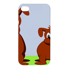 Animals Dogs Mutts Dog Pets Apple Iphone 4/4s Premium Hardshell Case