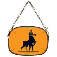 Illustration Silhouette Art Mammals Chain Purses (one Side)  by Nexatart