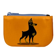 Illustration Silhouette Art Mammals Large Coin Purse