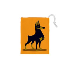 Illustration Silhouette Art Mammals Drawstring Pouches (xs)
