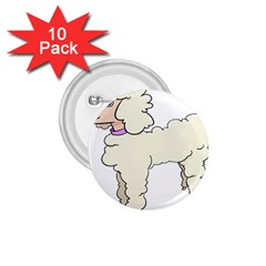 Poodle Dog Breed Cute Adorable 1 75  Buttons (10 Pack)