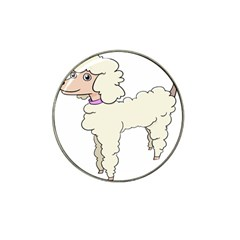 Poodle Dog Breed Cute Adorable Hat Clip Ball Marker