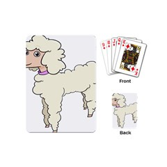 Poodle Dog Breed Cute Adorable Playing Cards (mini)  by Nexatart