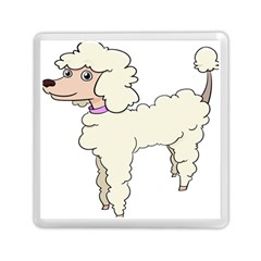 Poodle Dog Breed Cute Adorable Memory Card Reader (square)