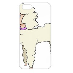 Poodle Dog Breed Cute Adorable Apple Iphone 5 Seamless Case (white)