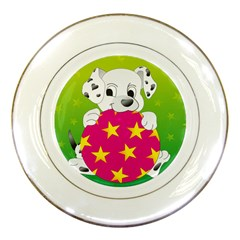 Dalmatians Dog Puppy Animal Pet Porcelain Plates