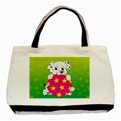 Dalmatians Dog Puppy Animal Pet Basic Tote Bag by Nexatart