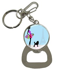 Woman Girl Lady Female Young Bottle Opener Key Chains by Nexatart