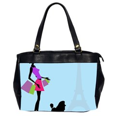 Woman Girl Lady Female Young Office Handbags (2 Sides)  by Nexatart