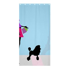 Woman Girl Lady Female Young Shower Curtain 36  X 72  (stall)